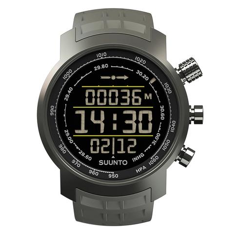 Купить Наручные часы Suunto часы Elementum Terra Stealth rubber SS020336000 по доступной цене