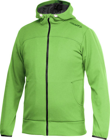 Толстовка мужская CRAFT LEASURE green