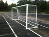 Футбольные ворота алюминиевые 2х5 м. юниорские (пара)