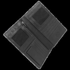 Портмоне WENGER Alphubel для документов , цвет черный, 12*1,5*22 см (W2-01BLACK)