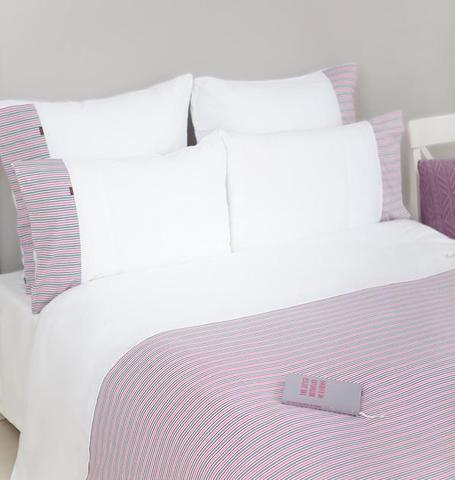 Элитная наволочка Трикотаж Джерси розовая от Luxberry