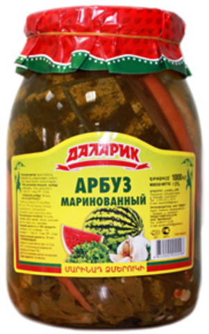 Арбуз маринованный Даларик, 1000г