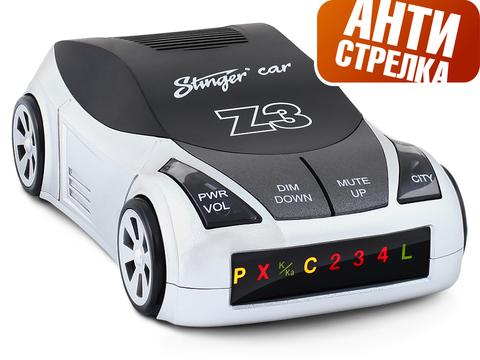 Радар-детектор Stinger Car Z3 (Антистрелка)