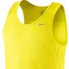 Мужская майка л/а Nike Miler Singlet (519694 700) желтая