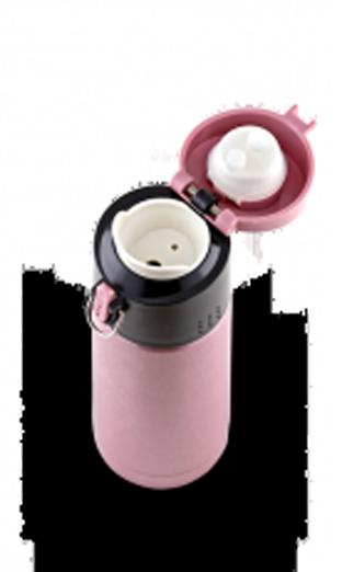 Термокружка La Playa Travel Tumbler Bubble Safe (0,35 литра) розовая
