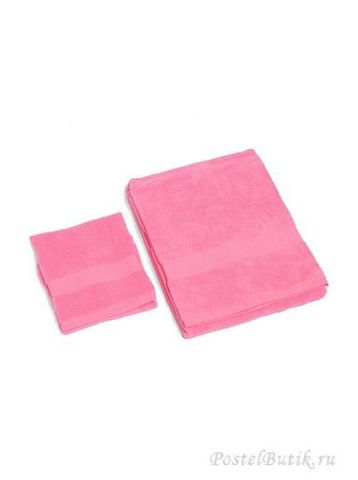 Полотенце 40х75 Mirabello Microcotton розовое