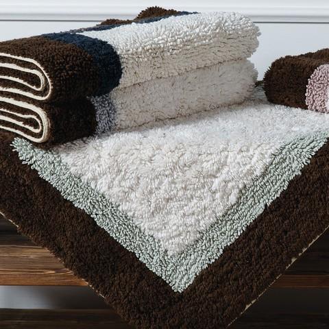 Элитный коврик для ванной Soho темно-синий от Casual Avenue