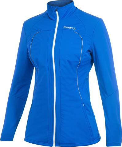 Лыжная куртка Craft Storm женская blue