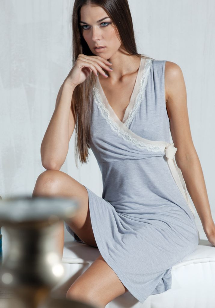 Домашнее платье без рукавов Verdiani