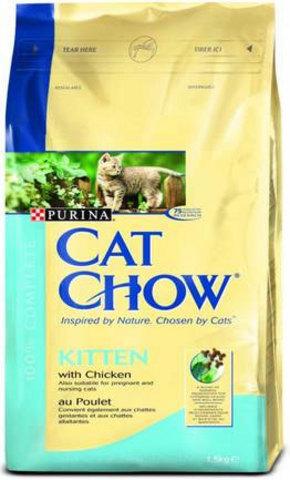 Cat Chow Для котят с курицей (kitten with chicken) 400 г