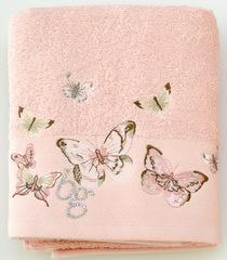 Полотенце 100х150 Blumarine-Blugirl Castadiva розовое