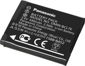 Аккумулятор Panasonic DMW-BCL7e для фотоаппарата Панасоник Lumix DMC-F5, DMC-FH10, DMC-FS50, DMC-SZ9, DMC-SZ8, DMC-SZ3, DMC-XS1, DMC-XS3