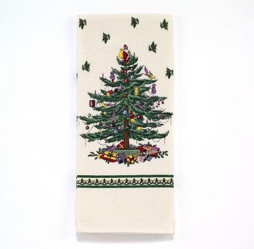 Полотенца Полотенце 54x71 Avanti Spode Christmas Tree кремовое elitnye-polotentsa-kuhonnye-spode-christmas-tree-ot-avanti-ssha-kitay.jpg