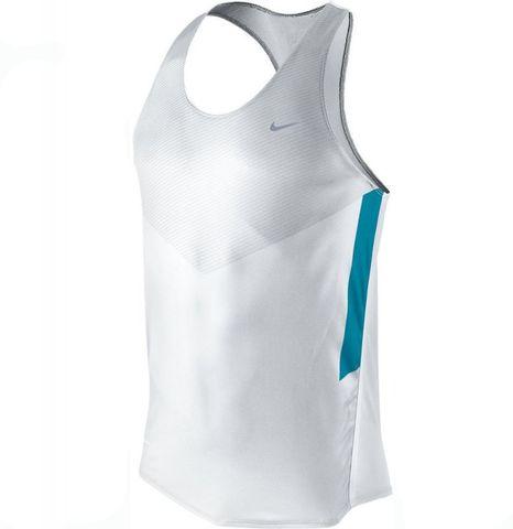 Майка л/а Nike Distance Singlet белая