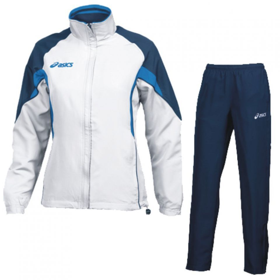 Женский спортивный костюм ASICS SUIT AURORA белый-синий (T654Z5 0150) фото