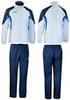 Женский спортивный костюм асикс SUIT AURORA белый-синий (T654Z5 0150)
