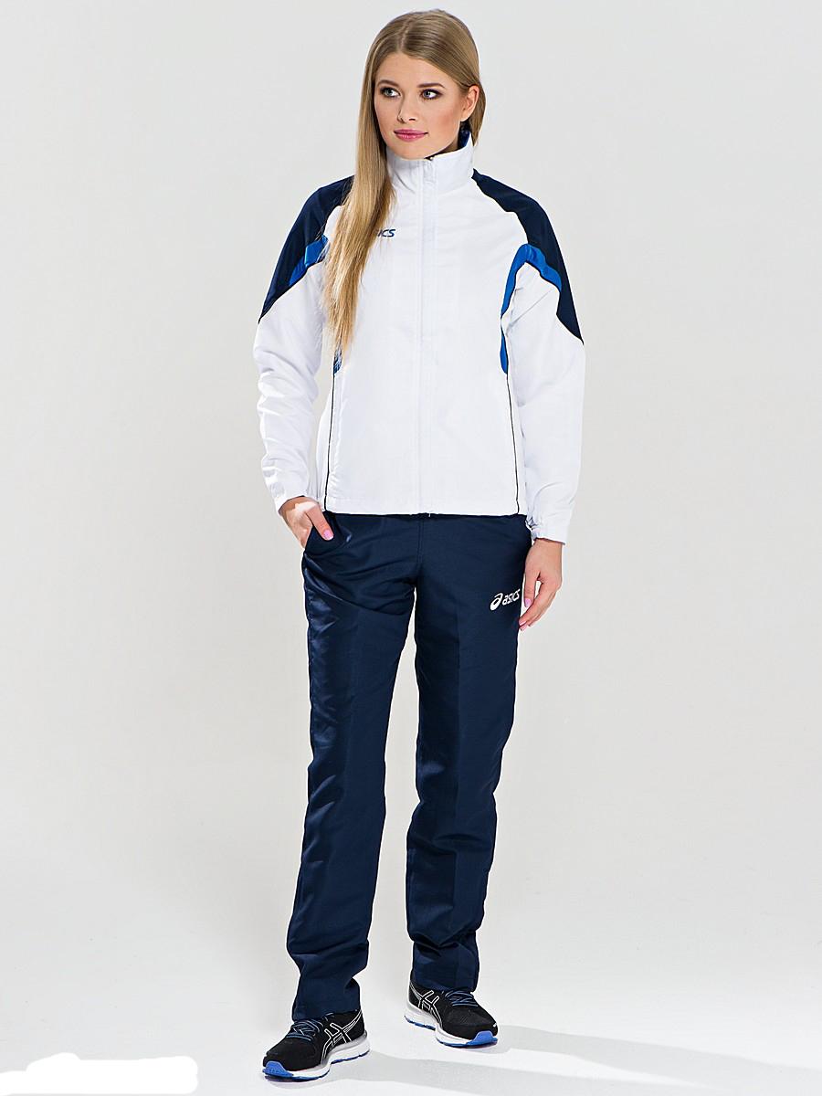 Женский спортивный костюм ASICS SUIT AURORA белый-синий (T654Z5 0150)