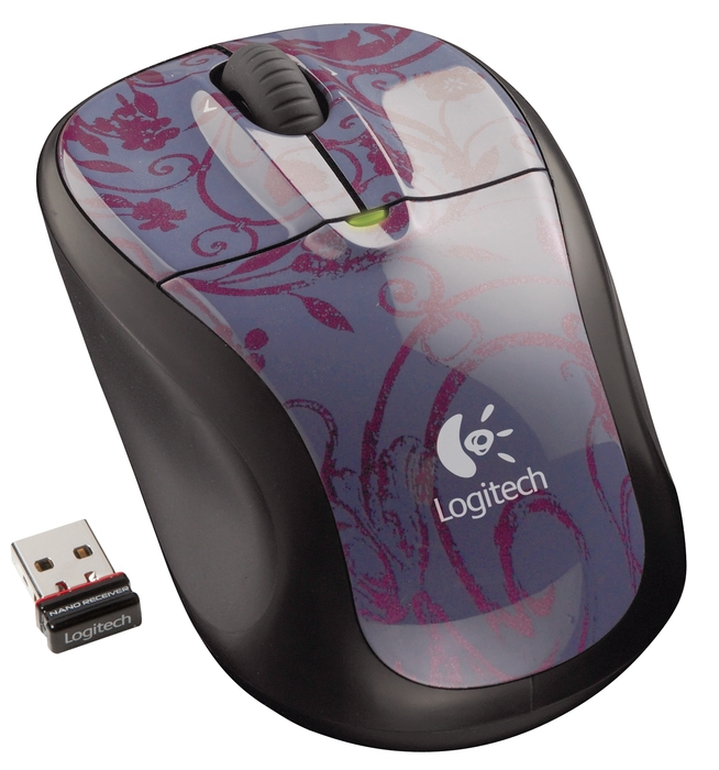LOGITECH M305 Cordless USB Midnight Garden