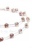 Ожерелье Арлекино Пикколо серебристое (нет в наличии)