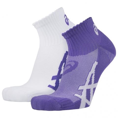 Носки ASICS 2PPK WOMENS SOCK purple женские