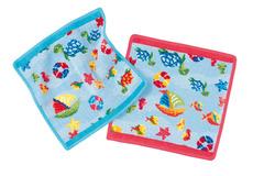 Полотенце детское 25x25 Feiler Ocean 233 голубое