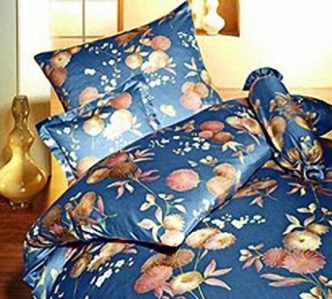 Элитная наволочка Kimono синяя от Elegante