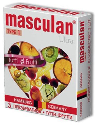 Презервативы Masculan Ultra Тутти-Фрутти (Tutti-Frutti)