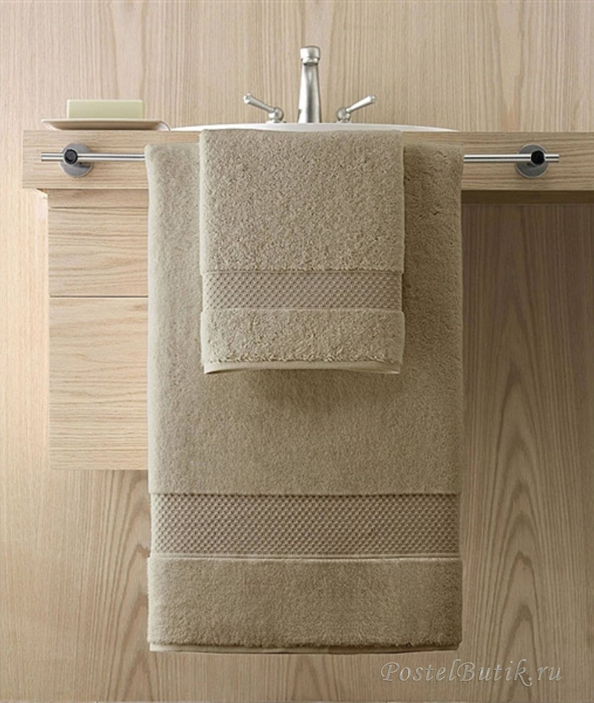 Элитный банный коврик Elegance Desert Sand от Kassatex