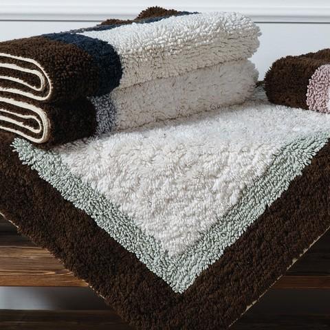 Элитный коврик для ванной Soho светло-голубой от Casual Avenue