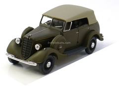 GAZ-61-40 with awning khaki 1:43 Nash Avtoprom
