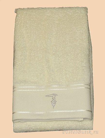 Наборы полотенец Набор полотенец 2 шт Trussardi Luxor кремовый elitnie-polotentsa-luxor-kremovie-ot-trussardi-italiya.jpg