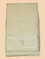 Набор полотенец 2 шт Trussardi Luxor кремовый