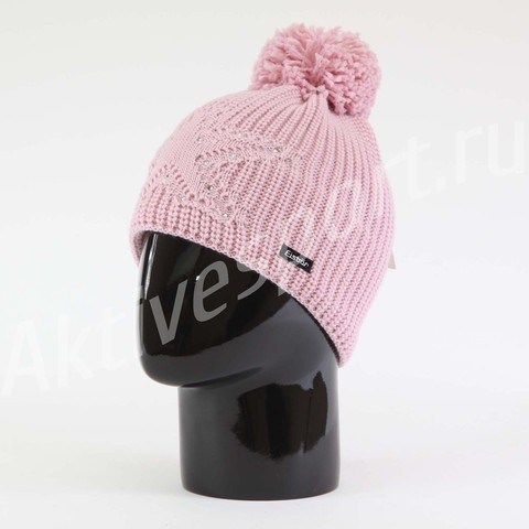 шапка Eisbar Chantal Pompon Crystal 777
