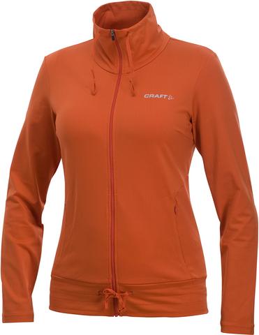 Куртка Craft Stretch женская оранжевая