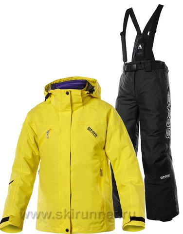 Горнолыжный костюм детский 8848 Altitude Troy Yellow Galaxy
