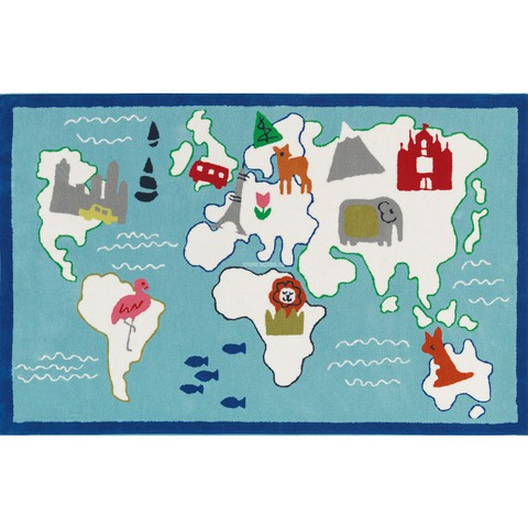 Ковер Designers Guild Kids Rugs Around The World DHR172/01, интернет магазин Волео