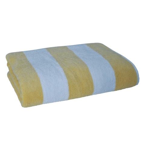 Полотенце 70x76 Casual Avenue Tampa желтое/белое