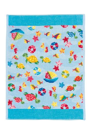 Полотенце детское 37x50 Feiler Ocean 233 голубое