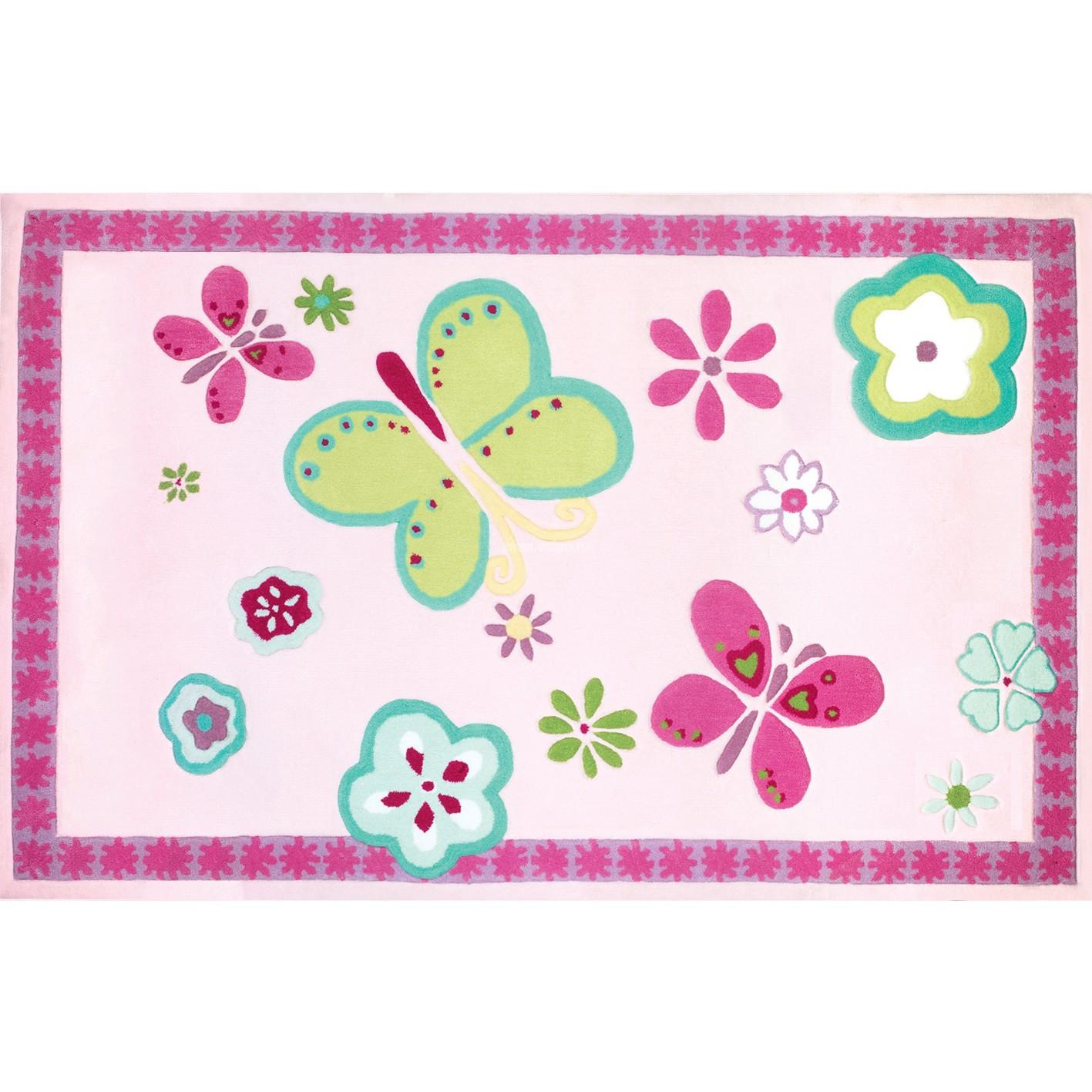 Ковер Designers Guild Kids Rugs Elgin Flower DHR085/01, интернет магазин Волео