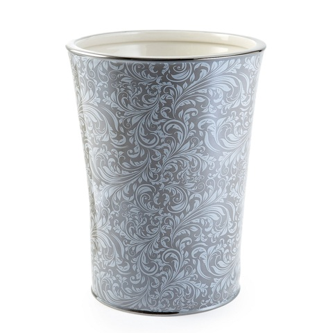 Ведро для мусора Bedminster Scroll Flint Grey от Kassatex