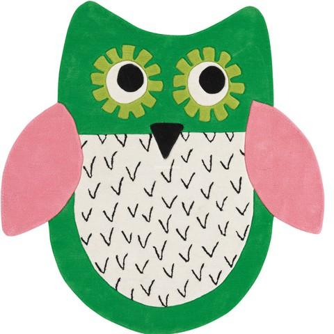 Ковер Designers Guild Kids Rugs Little Owl Emerald DHR173/01, интернет магазин Волео