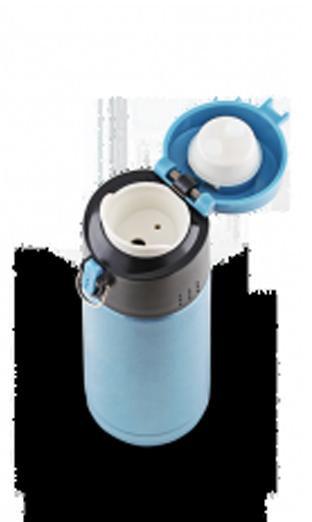 Термокружка La Playa Travel Tumbler Bubble Safe (0.35 литра) голубая