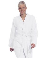 Элитный халат вафельный Rom white от Vossen