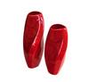 Элитная ваза декоративная Red Passion витая высокая от Sporvil