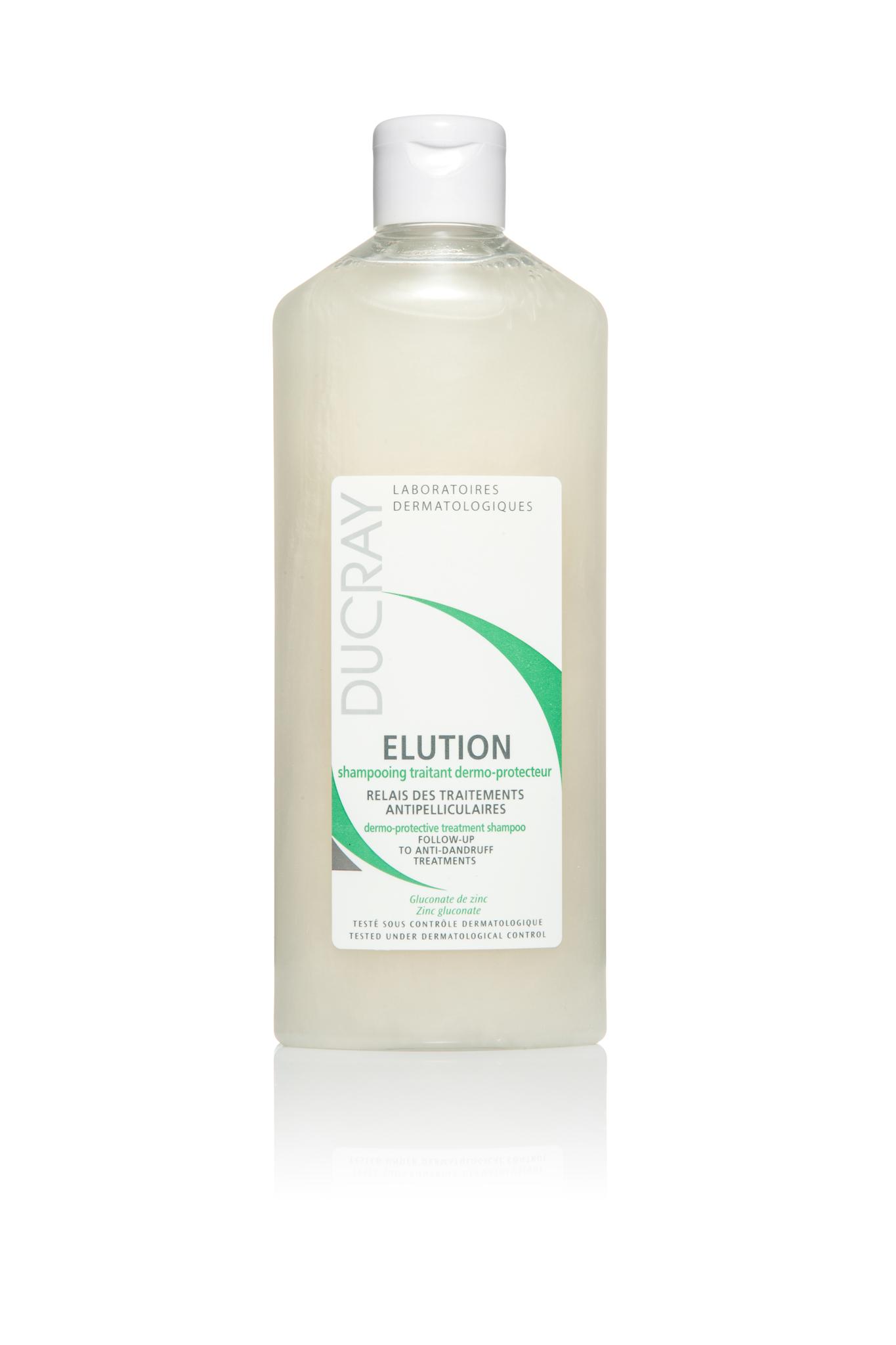 Ducray Elution оздоравливающий шампунь для чувствительной кожи головы 300 мл.