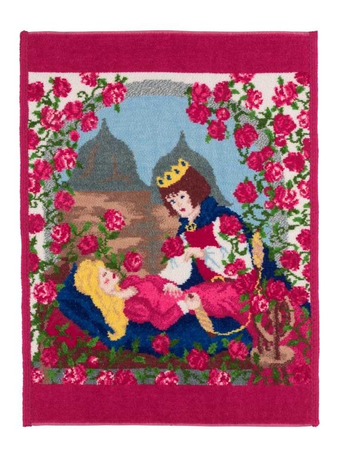 Полотенце детское 37x50 Feiler Marchen Sleeping Beauty 135 красное