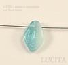 """Бусина """"Листик""""  (цвет- голубой+светло-голубой) 12х7 мм , 20 штук ()"""