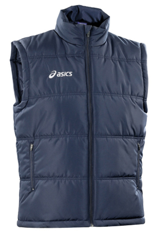 Утеплённый жилет Asics Gliet Vest Blue мужской