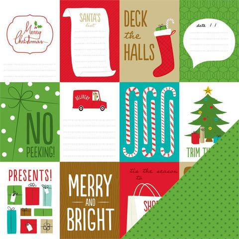Набор журнальных карточек Be merry