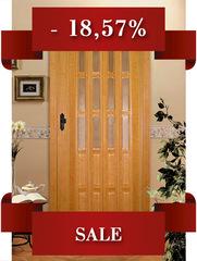 Двери с шарниром ПВХ, с витражами, БУК